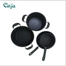 10PCS alta calidad de aluminio metálico Cookware