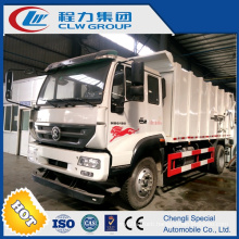 Butt Joint Type Garbage Truck for Garbage Station