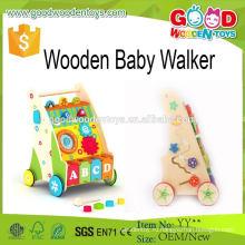 2015 Уникальный стиль моды деревянный ребенок Walker Funny Kids Toy