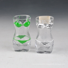 Bikini Colored Small Shot Glass