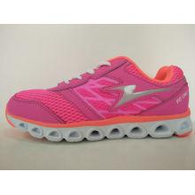 Damen rosa Laufschuhe flache Schuhe