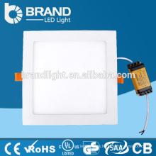 ¡¡Ventas calientes!! 3W / 6W / 9W / 12W / 18W / 24W Dimmable Cuadrado empotrado LED Panel de luz