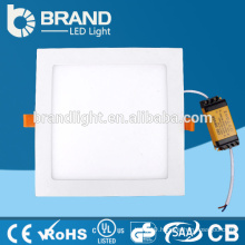 CE RoHS Recessed Mounted CRI>85 9W LED Panel Light