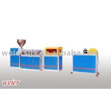 plastic physical foam web machine