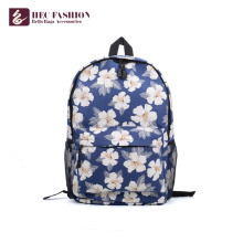HEC Promotional Blue Printed Children School Bags Backpack