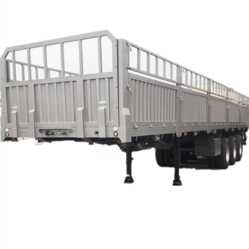 Multi Use Tri-axles Cargo Transport Flatbed