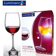 Luminarc 350ml copa de vidrio de beber vino tinto (E5979)