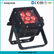 Outdoor Waterproof Square LED RGBW 7X10W Flat PAR Light