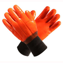 Orange 2 Layers Full Dipped PVC Household Gloves
