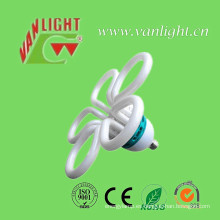 Flor ahorro de energía lámparas CFL fluorescente (VLC-FLRR-105W)