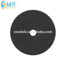 rueda de pulir no tejida con tela lijadora