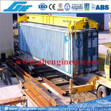 40FT полуавтоматический рамочный разбрасыватель контейнеров