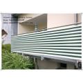 3x2M outdoor retractable Balcony awning sunshade net