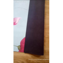 suede and natural tree rubber friendly natural rubber yoga mat with customized printing