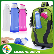 BPA free silicone foldable water bottle