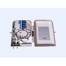 FTTH caixa de distribuição óptica de 16 portas com adaptador LC, SC, ST, FC