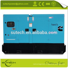 Fast delivery 100kw silent diesel generator, powered by Cummins 6BTA5.9-G2 engine