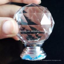 Bolígrafo de cristal personalizado de alta calidad único de la ejecución de los cristales