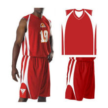 100% Cotton Sublimated Basketball Uniforms Polyester Mesh Fabric 150gsm