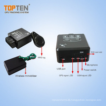 OBD II Car Tracker with RFID/Bluetooth OBD2 Diagnostic/Wireless Immobilizer (TK228-ER)