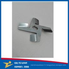 Pièces en acier de connecteur en métal de pièces de rechange de la machine 304