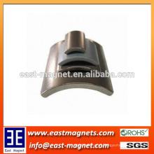 segment shape magnet for custom made/custom every size grade arc shape ndfeb magnet