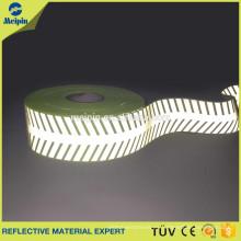 Palillo de artículo de cinta reflectante con logotipo propio de signo de flecha reflectante