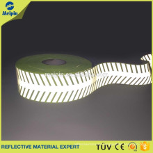 Reflective tape article stick with own logo of reflective arrow sign