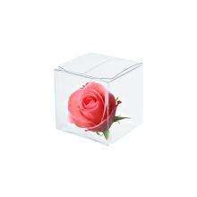 Подарочная прозрачная прозрачная пластиковая коробка из ПВХ