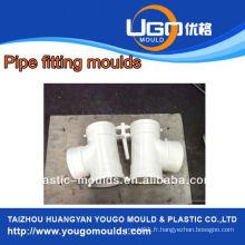 Haute qualité, bon prix, usine de moules en plastique, pour la taille standard 2Cavity Tee en acier inoxydable en taizhou Chine