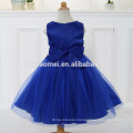 New style baby girl dress 2017 hot sell sleeveless baby girl party dress