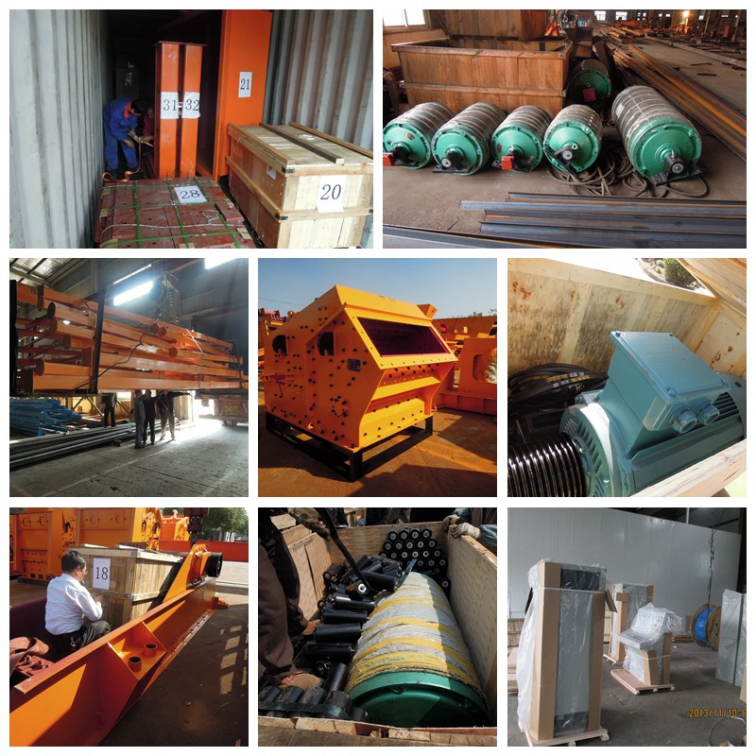 Packaging jaw crusher