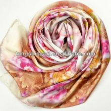 luxury digital print scarves silk