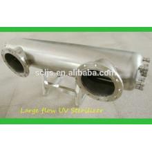 Esterilizador UV de aço inoxidável para tratamento de esgoto de águas residuais