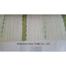 Новый популярный проект полоса Organza Voile Sheer Curtain Fabric 008278
