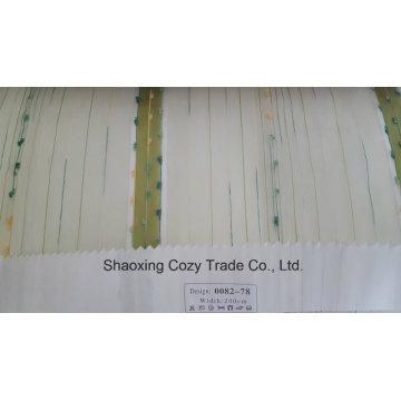 Neues Populäres Projekt Streifen Organza Voile Sheer Vorhang Stoff 008278