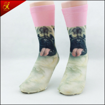 Chaussettes impression animale Tube polyester