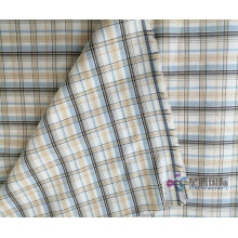 100% Cotton Check Dobby Fabric yang Indah