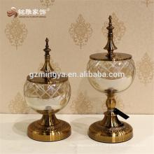 Artisanat en verre de conception antique pour décoration de maison