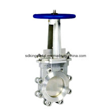 Manual Knife Pn10 Cast Steel Gate Valve