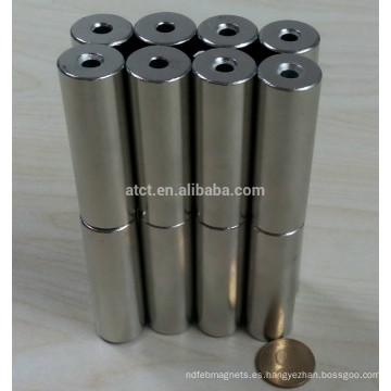 Permanente bloque neodimio cilindro magnético