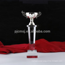 Made in China superior quality crystal award trophy