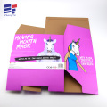 Color paper box for packaging mask