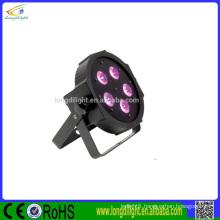 led flat par light,disco ligd dj lights 5*9w flat led par slim light DJ pro flat par