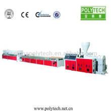 Máquina de corte de perfil de plástico PVC 2014