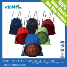 Cheap Promotional Baseball Drawstring Bags Polyester With Factory Price