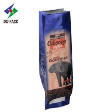 Coffee bag plastic material coffee package with volve
