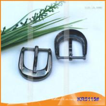 Tamaño interior 25mm Metal Hebillas para zapatos, bolsa o cinturón KR5115