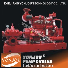 4′′ Diesel Engine Driven Pump Skits on Trailer