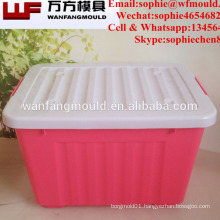 Polypropylene container moulds for sales ABS storage box moulds Plastic injection container mold in China